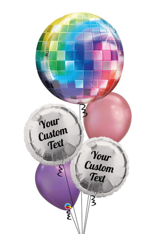 Disco-Ball-Balloon-Bouquet-Personalized-Bouquet_Balloon__Helium_Montreal_Delivery_Bouquet_Ballon_Montreal_Livraison