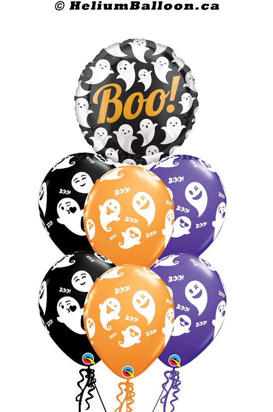 Bouquet-Ghost-Boo-Halloween-helium-balloon-Montreal-delivery-Livraison-bouquets-de-ballons-Helium-Montreal-Ballon-Halloween-Fantôme