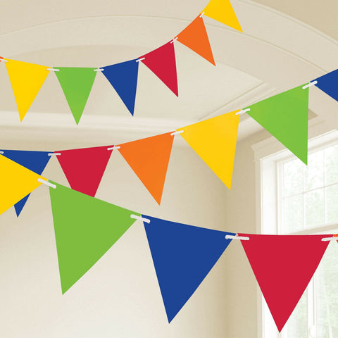 Giant Plastic Rainbow Flag Banner for Party Decor 32.8ft