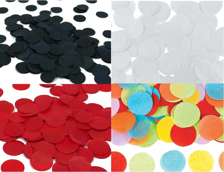 Paper - Confetti - Bag of 0.8 oz ( Colors Available )