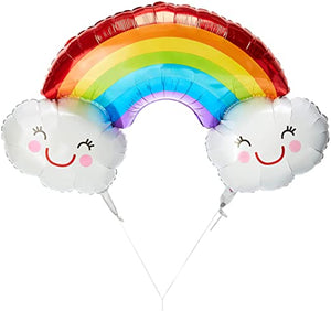 Rainbow Balloon Super Shape 37""