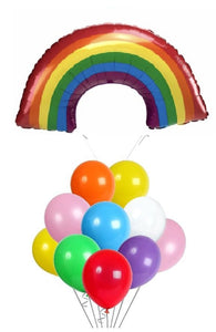 Rainbow_Super_Bouquet_Balloon_Arc-en-Ciel_Ca_va_bien_aller_Ballon_Bouquet_Helium_Montreal