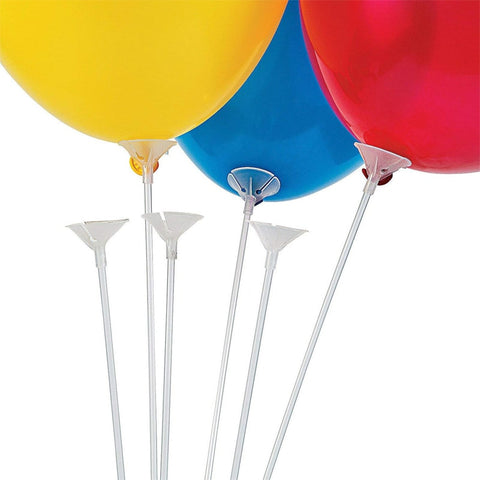 Balloon Sticks with Cups