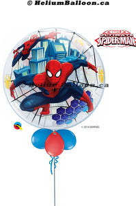 Bubble Spider Man ( Age 1 to 9 Optional )