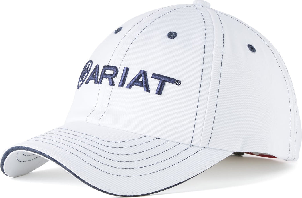 Ariat Team II Cap - White/Black