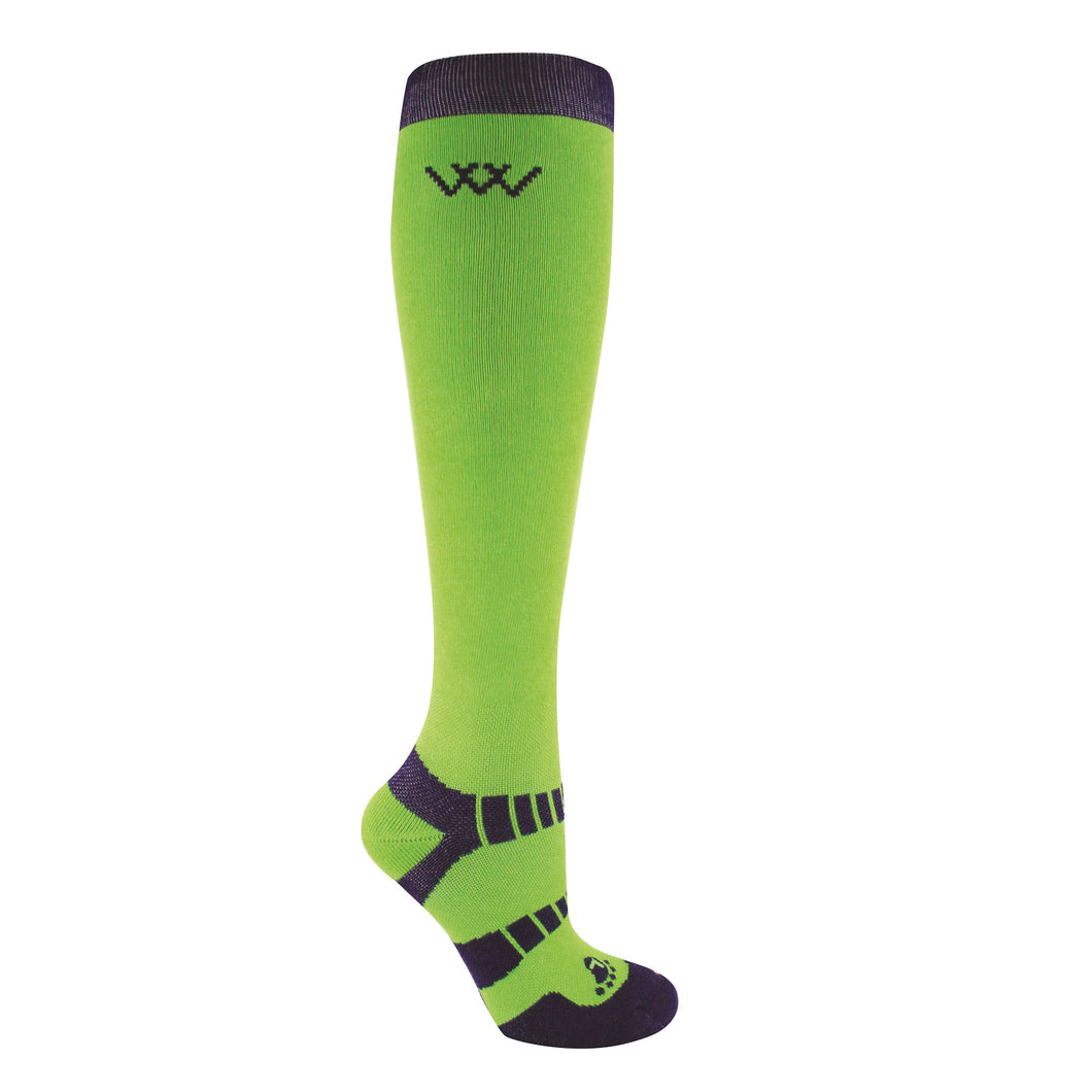 Woof Wear Bamboo Riding Sock - 2 Pairs