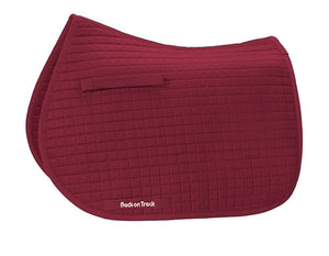 Back on Track Firm All Purpose Saddle Pad - Burgundy