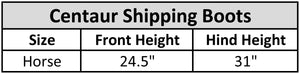 Centaur® 1200D Solid Shipping Boots