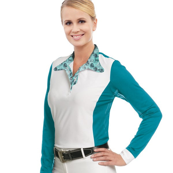 Ovation® Ladies' Belmont Long Sleeve Show Shirt