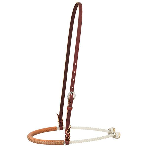 Leather Covered Rope Noseband