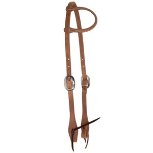 Reinsman Hermann Oak Harness Slide Ear Headstall
