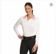 Load image into Gallery viewer, Ovation® Destiny Evercool Long Sleeve Show Shirt- Ladies'