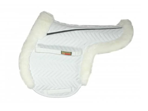 Fleeceworks FXK Technology Sheepskin Close Contact Pad with Partial Trim