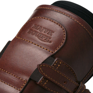 Leather Jumper or Equitation Tendon Boot with Impact Protective Removable Liners (Buckle Closures)