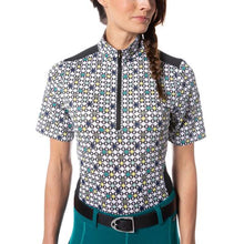Load image into Gallery viewer, Kerrits Ice Fil Lite Short Sleeve Riding Shirt - Print