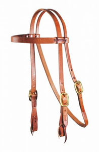 "Professional's Choice Schutz Collection Laced 3/4"" Headstall"