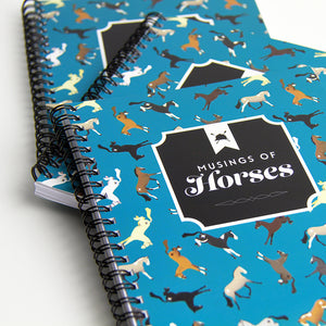 Hunt Seat Paper Co. Musings of Horses Notebook
