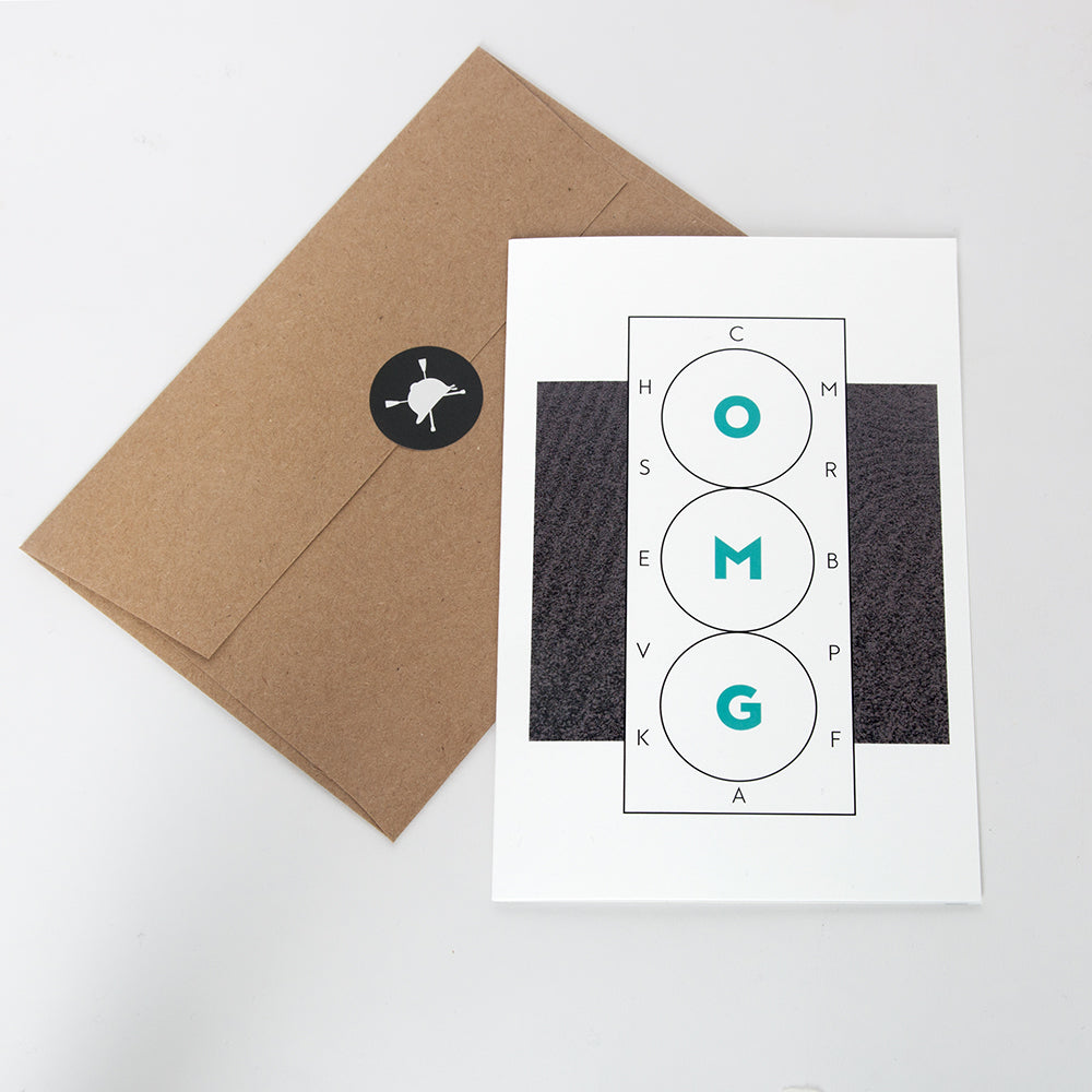 Hunt Seat Paper Co. OMG Dressage Greeting Card