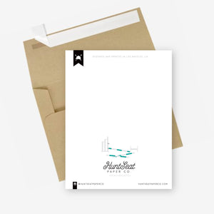 Hunt Seat Paper Co. Off Course Greeting Card