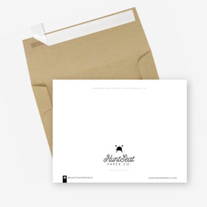 Hunt Seat Paper Co. Goals Greeting Card