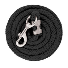 Load image into Gallery viewer, Weaver Poly Lead Rope with Chrome Brass Snap - 10 ft.