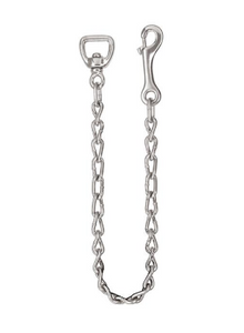 "Weaver Barcoded 730 Lead Chain, 30"", Nickel Plated"