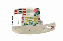 C4 Jumps and Flowers Belt with Standard Silver Buckle