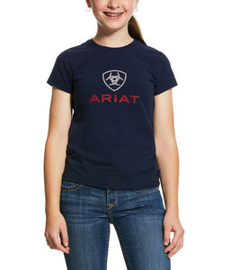Ariat Girls HD Logo Tee