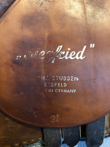 Stubben Siegfried Close Contact Saddle 19 Inch Seat