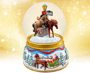 "Breyer ""Merry Meadows"" Musical Snow Globe"