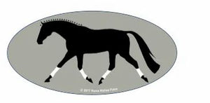 Laptop, Cell Phone & Helmet Horse Sticker