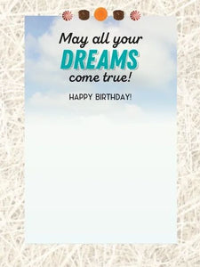 Horse Hollow Dreams Birthday Card