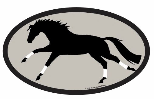 Euro Stickers Galloping Horse