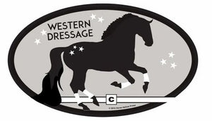 Euro Stickers Western Dressage