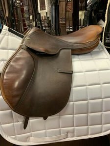 "16.5"" Bevel Close Contact Saddle"