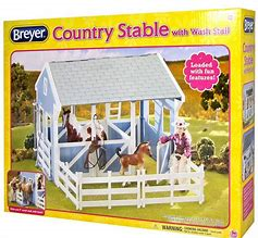 Breyer Freedom Series Country Stable with Wash Stall