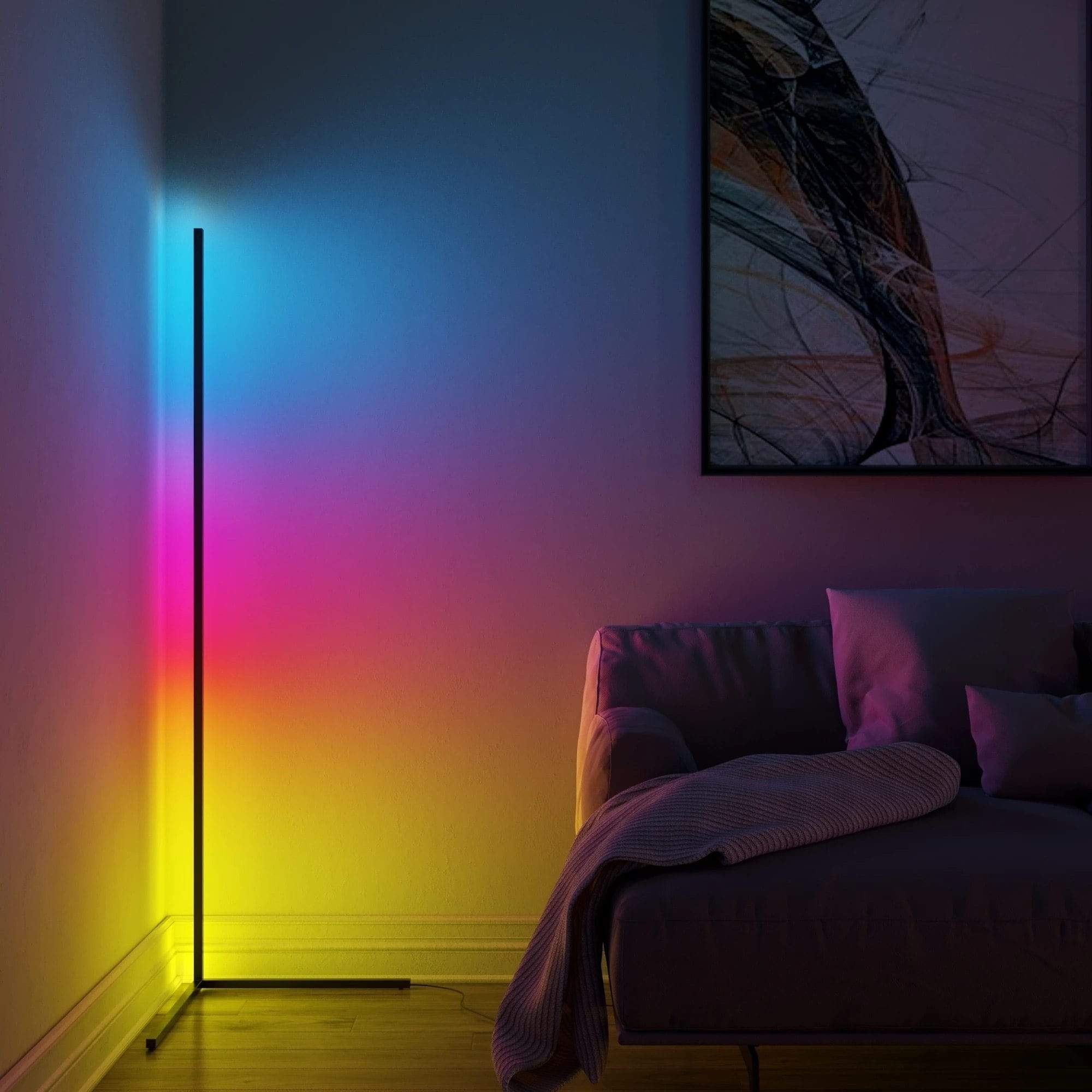 OMNIDEM ÅSE Standing Lamp with Color Control