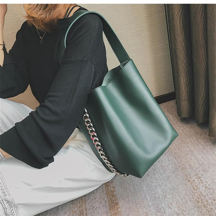 OMNIDEN Green Arianna Shoulder Bag