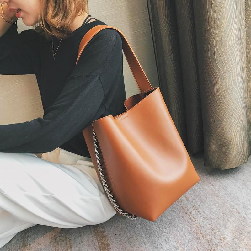 OMNIDEN brown Arianna Shoulder Bag