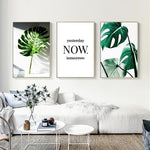 Load image into Gallery viewer, OMNIDEN 40x50cm / Set of 3 GRØNN Canvas Prints