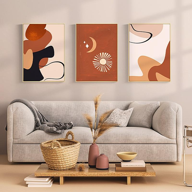 OMNIDEN 50x70cm - 20x27.5 in (unframed) / Set A (3x prints) KOS Nordic Canvas Print