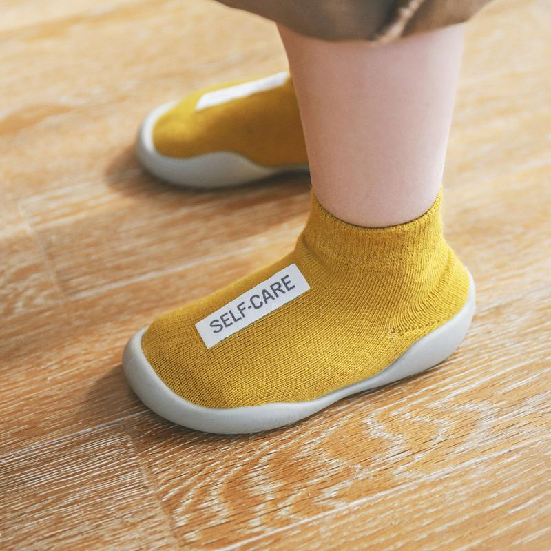 OMNIDEN Yellow / 2-4 Years RUBBO Baby Shoe-Socks