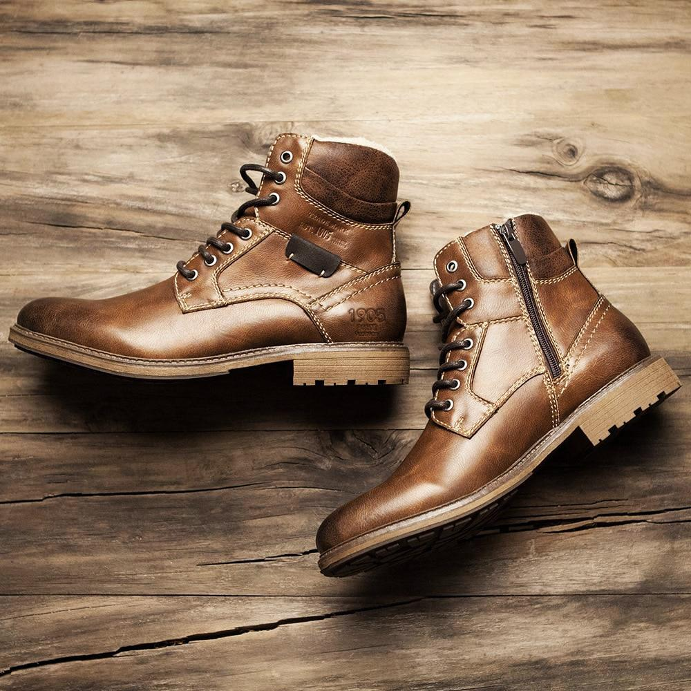 OMNIDEN Tan / 14 Arbor Leather Boot