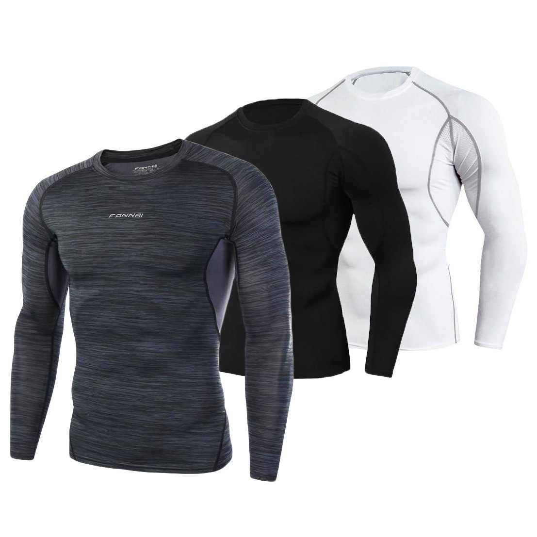 OMNIDEN Set of 3 (one of each) / S LMNT QuickDry Long Sleeve Top