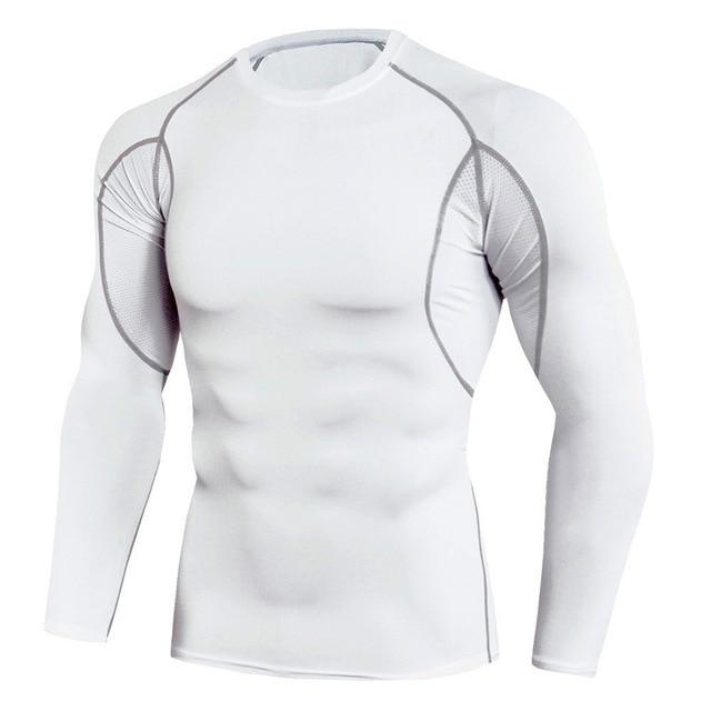 OMNIDEN White / S LMNT QuickDry Long Sleeve Top
