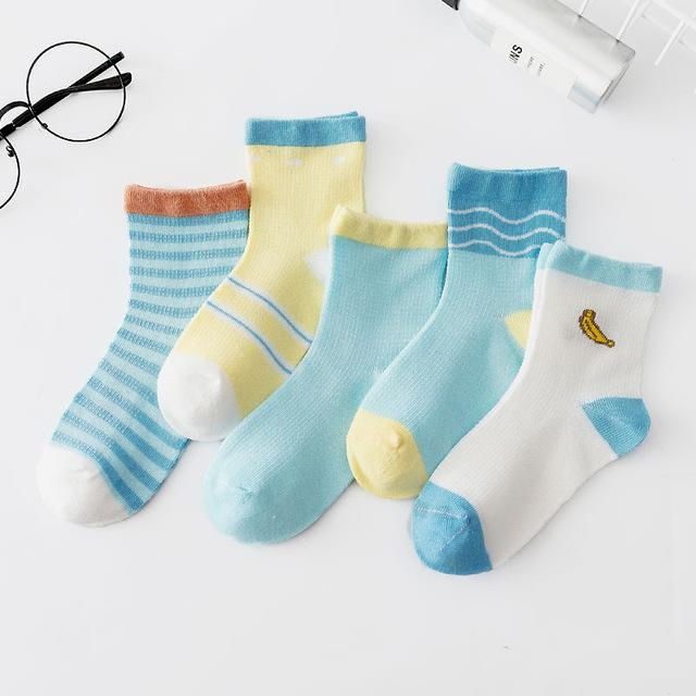 OMNIDEN Banana / 4-6 years Never-Boring Kids Sock