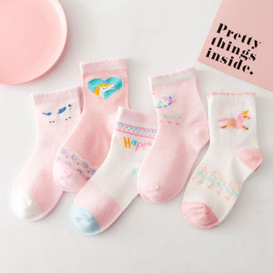 OMNIDEN Unicorn / 4-6 years Never-Boring Kids Sock