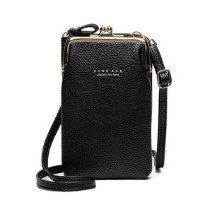OMNIDEN Black Diane Phone Bag