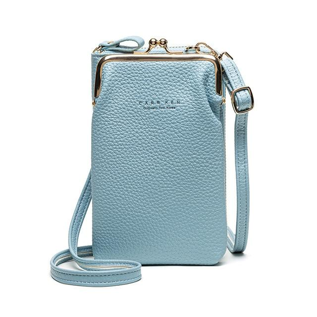 OMNIDEN Blue Diane Phone Bag