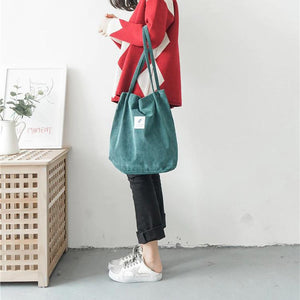 OMNIDEN Lynne Corduroy Shoulder Bag